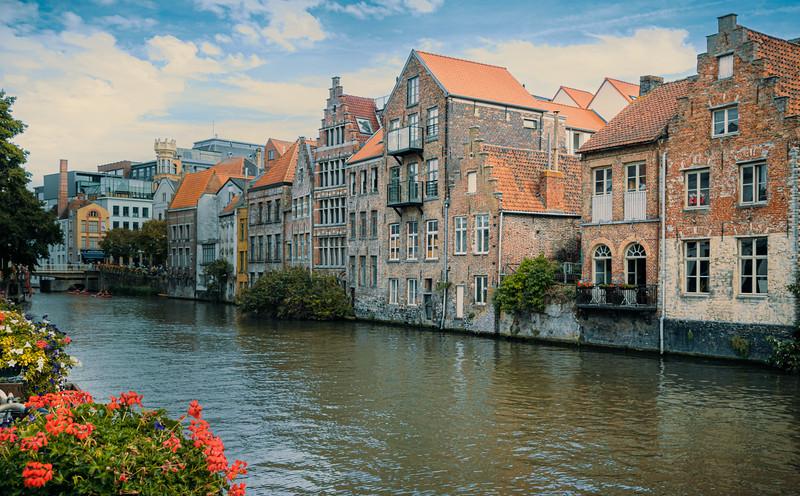 Waterway in Gent