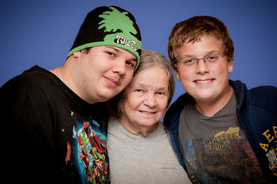 Jerry, Erik and Grandma