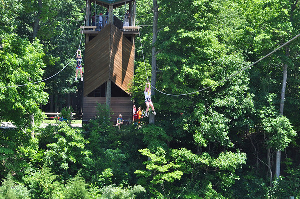 Thursday Ziplining (Mohican & Sioux)