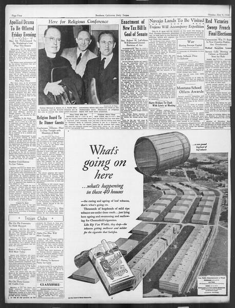 Daily Trojan, Vol. 27, No. 128, May 04, 1936
