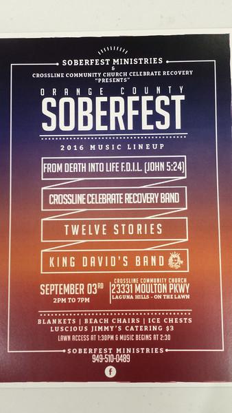 Soberfest 2016