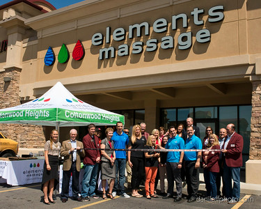 Elements Massage - Ribbon Cutting Ceremony - Sandy Area Chamber of Commerce