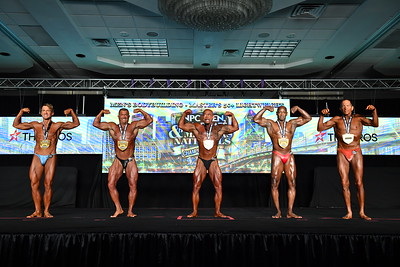 Men's Bodybuilding Masters 50+ LW