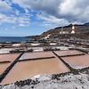 Salinen mit Leuchtturm von Fuencaliente auf La Palma