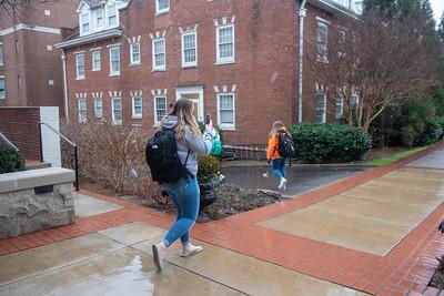 Snow day at Belmont University