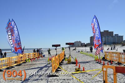 Winter Beach Run @ Jacksonville Beach - 1.18.14