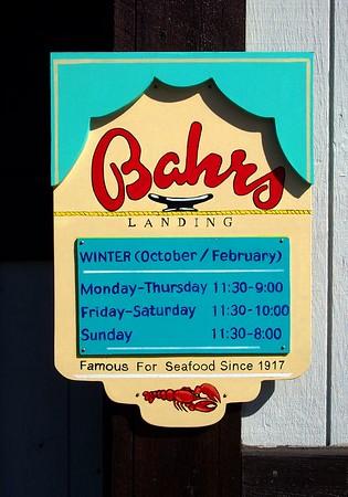 Bahr's Seafood 02-27-05