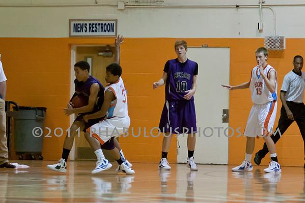 Winter Springs @ Boone Boys JV Basketball - 2011