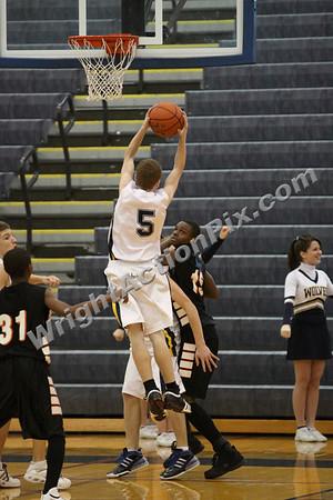 2009 01 16 Freshman Basketball Game vs. Pontiac Central