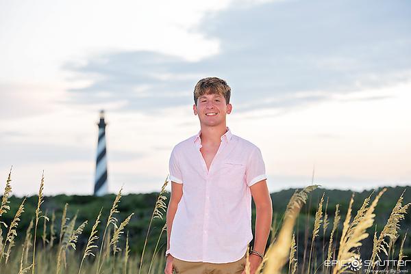 Noah, Cape Hatteras Lighthouse, Senior Photos