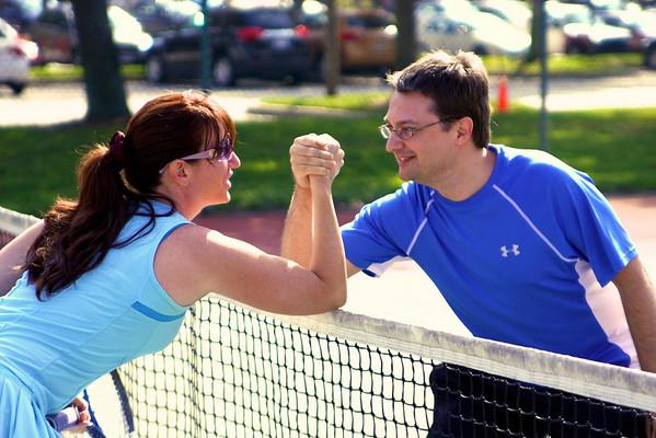 Coach/Teacher Tennis Match