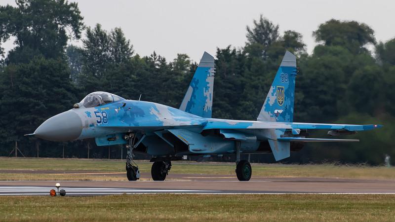 Ukranian SU-27 Flanker