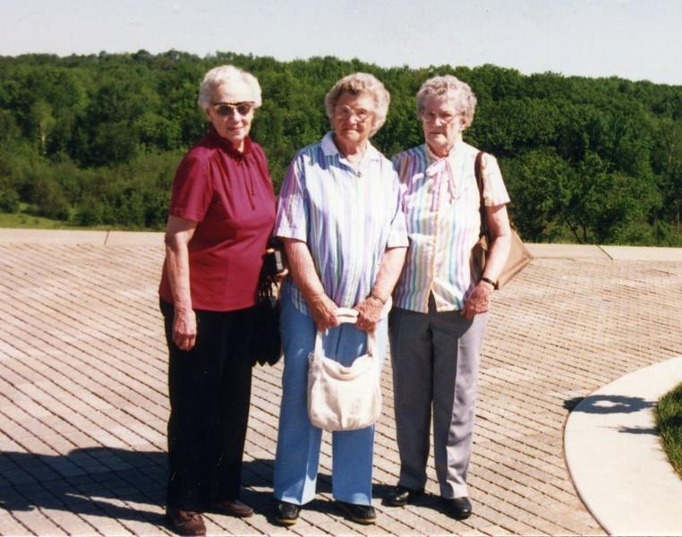 Elsie Herdrich, Gladys (Herdrich) Rowley and Anita Herdrich
