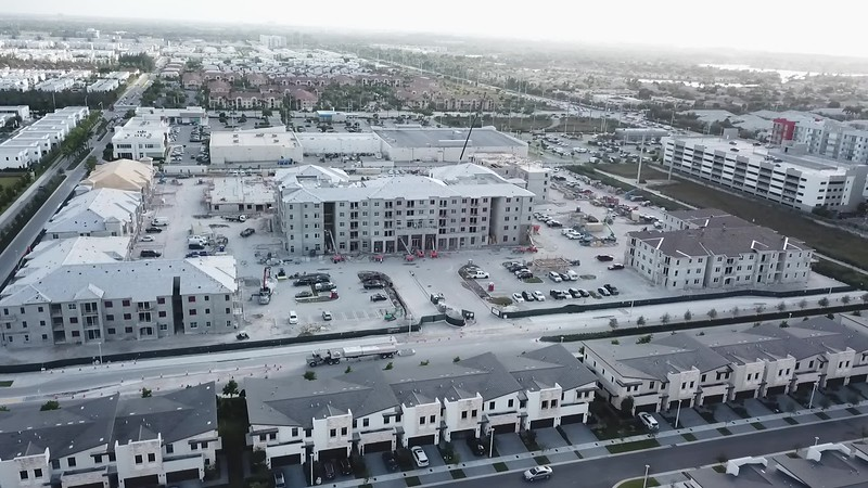 Construction Aerial Footage
