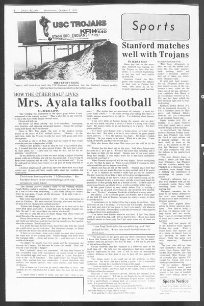 Daily Trojan, Vol. 62, No. 12, October 07, 1970