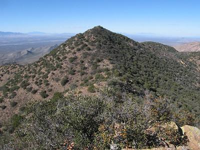 Fissure Peak - Dec. 3, 2009
