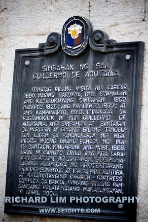 2009-10-27- Church of San Guillermo el Ermitano in Dalaguete, Cebu