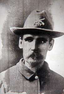 """""""Buckskin"""" Johnny Spaulding was born in Wisconsin, lived in western Nebraska for several years, and came to the Black Hills in about 1876.  He volunteered for the Army during the Spanish-American War -- at age 49!"""