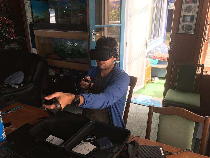 Oculus Rift fun