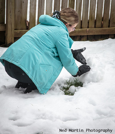 Making the Snowman