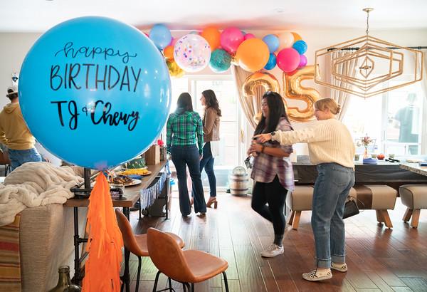 TJ and Chewy's Birthday Celebration