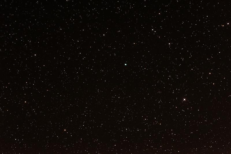 Caldwell 55 - Saturn Nebula - 23/8/2014 (Processed stack)