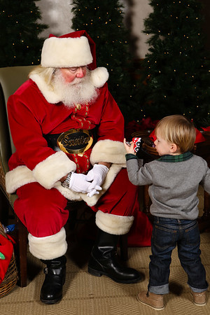 Naperville Country Club Breakfast with Santa 2014