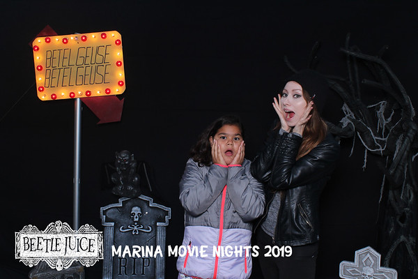 Marina Movie Nights 2019 - Beetlejuice