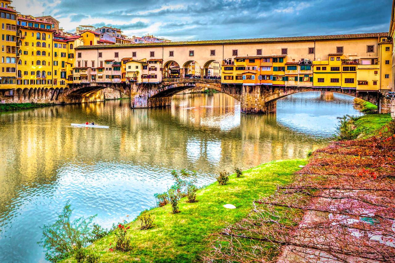 意大利佛罗伦萨(Florence),地标古桥