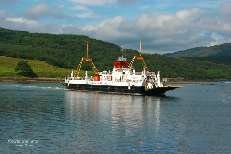 Caledonian 1 on the Kyles of Bute