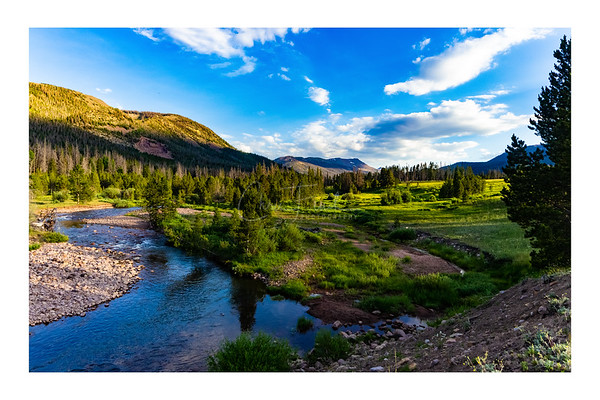 East Fork Blacks Fork River, High Uintas Utah