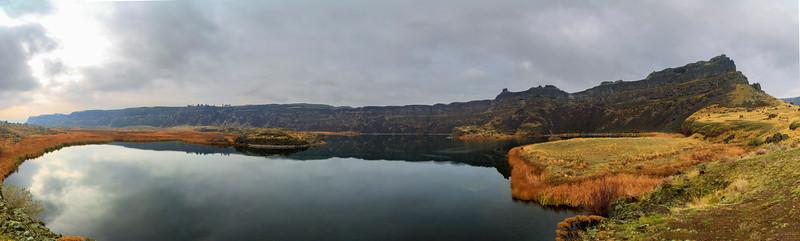 Dry Falls Lake Panorama