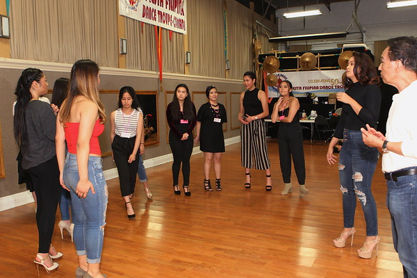 Mentoring and Having Fun Miss Manila Candidates 2018