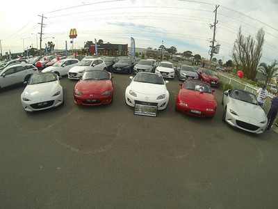 M Day at Traralgon Mazda - 12/9/15