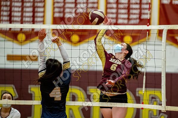 Sharon-Foxboro Volleyball - 03-08-21