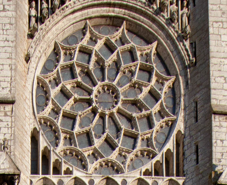 Chartres Cathedral North Rose Window