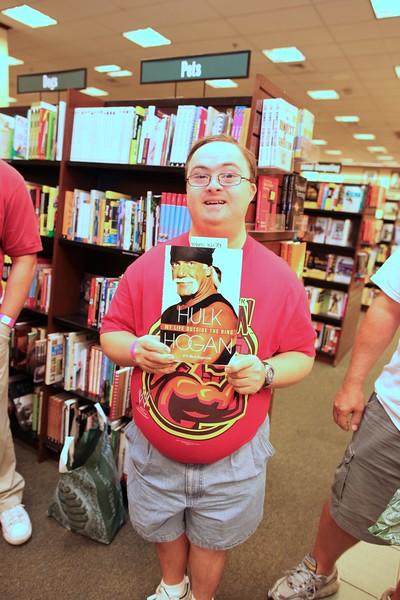 Hulk Hogan Book Signing