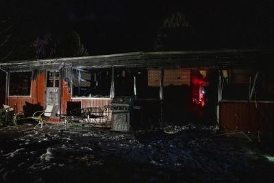 East Lake Way House Fire