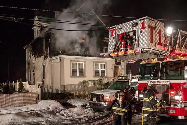 Englewood NJ 2nd alarm, 116 Humphrey St. 02-22-15
