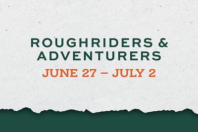 adventurers + roughriders