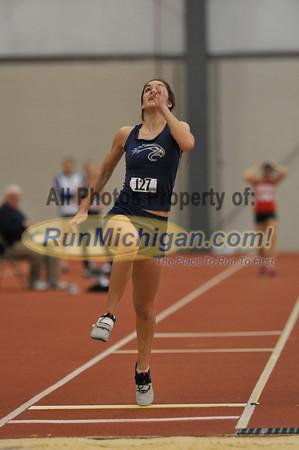 Women's Long Jump - 2012 NAIA Indoor Nationals