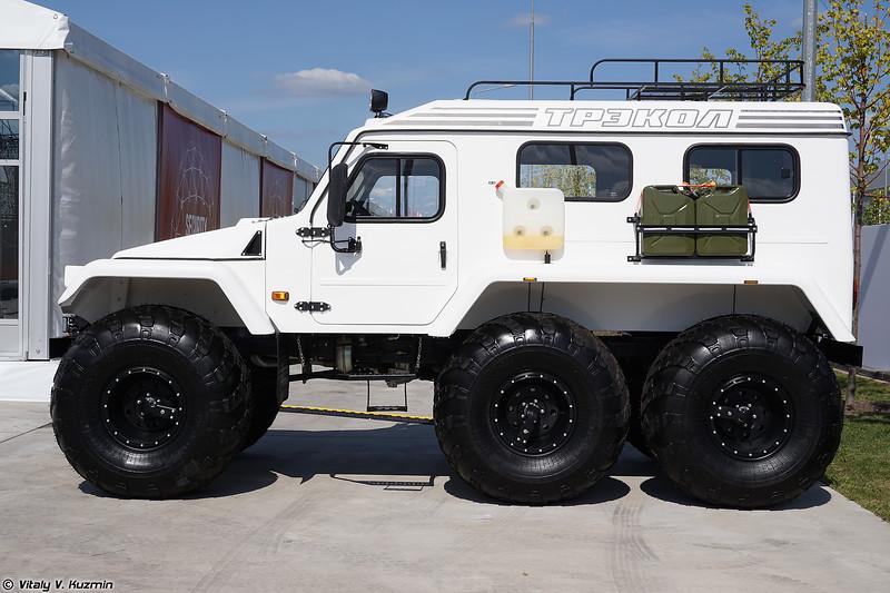 Вездеход ТРЭКОЛ-39294 (TREKOL-39294 all-terrain vehicle)