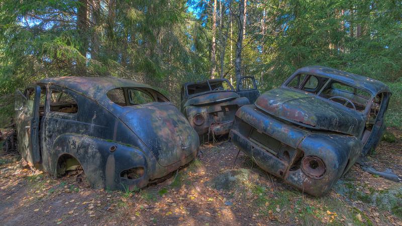 Urbex - Car Cemetery B.