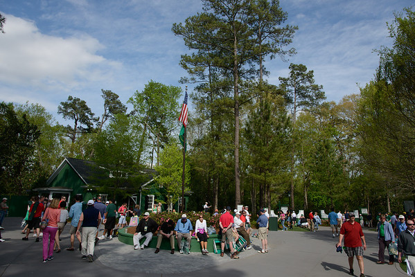 TUESDAY PRACTICE ROUND AT ANGC