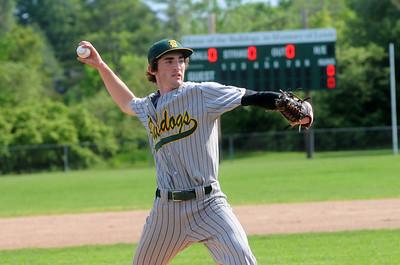 2011 BBA Varsity Baseball vs Mill River photos by Gary Baker