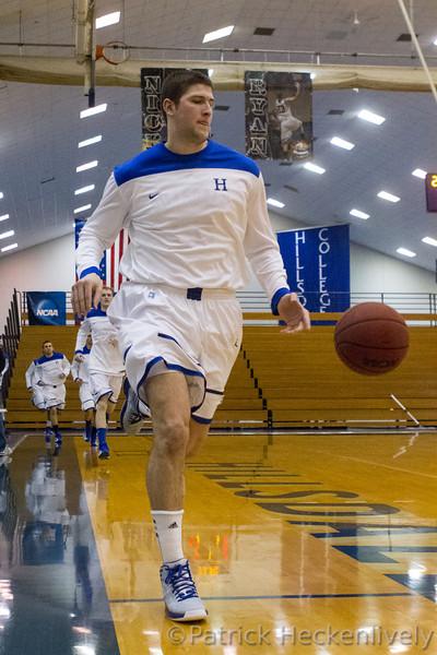 2013-02-16 Hillsdale College Men's basketball vs. Ashland