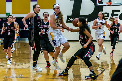 HS Sports - DeForest Girls Basketball - Dec 30, 2015