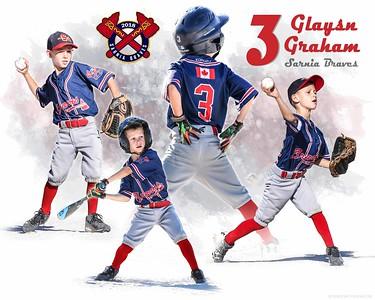 Custom Posters Portfolio - Baseball