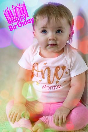 Morgan's 1st Birthday
