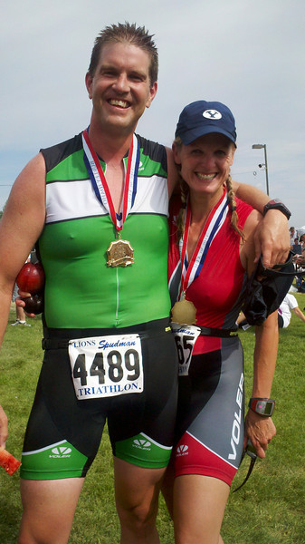 Robb and Jennifer Races 2011